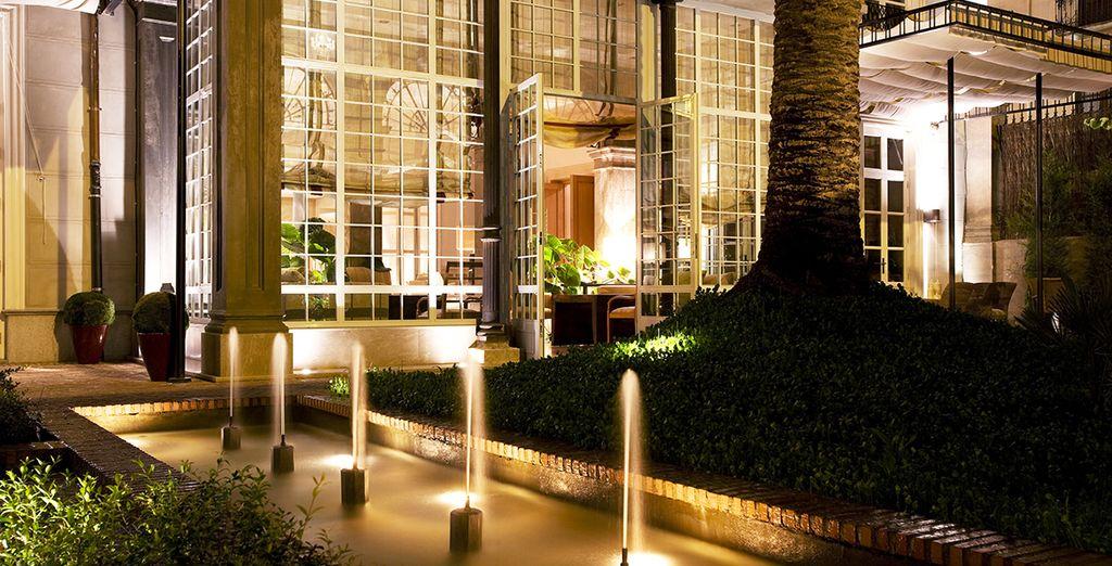 Herzlich Willkommen im Hotel Villa Oniria