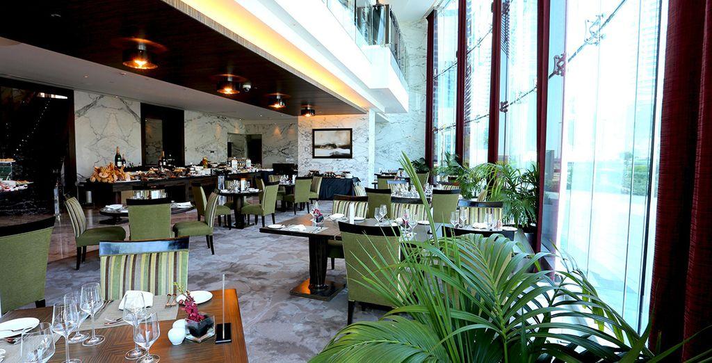Das Hotel verfügt ebenfalls über Restaurants