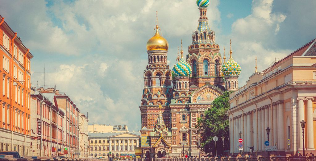 Direkt im Herzen der Stadt St. Petersburg
