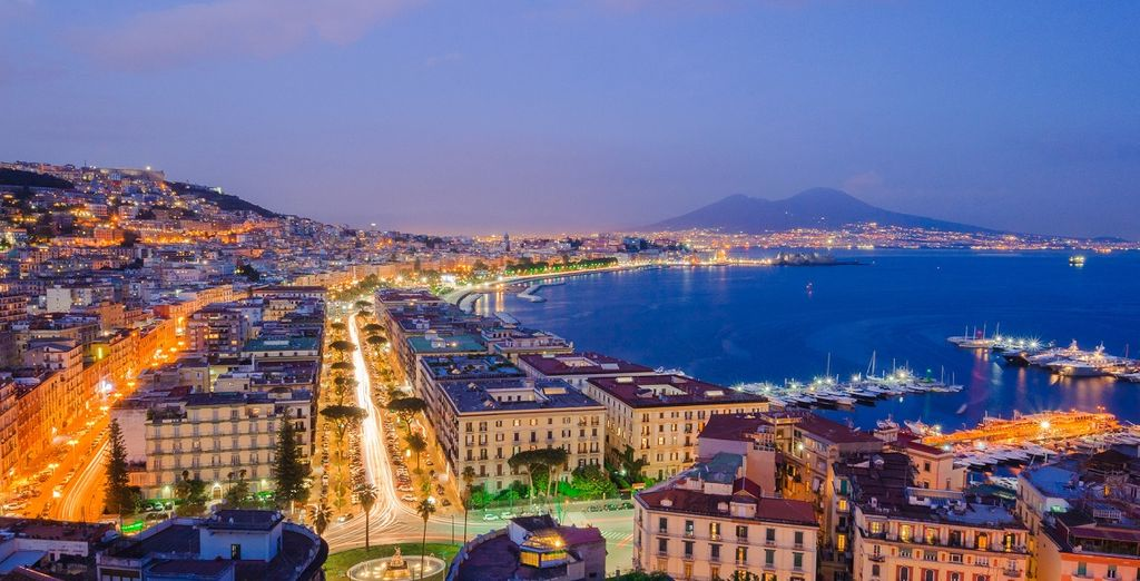 Neapel ist eine lebendige Stadt