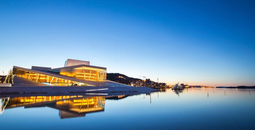 An inspiring trip, beginning in cultural capital Oslo