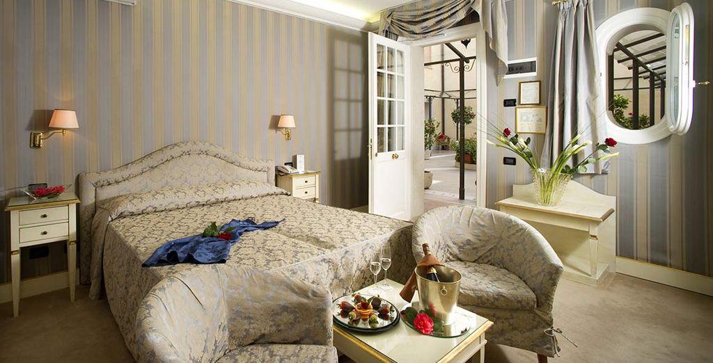 Herzlich willkommen in Ihrem 4* Hotel in Venedig