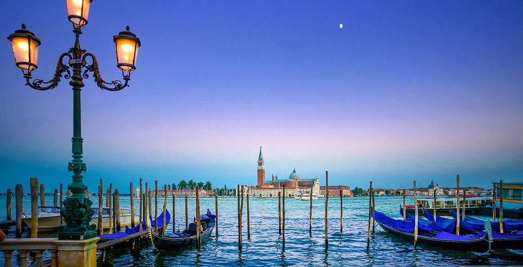 Wir wünschen Ihnen einen angenehmen Aufenthalt in Venedig!