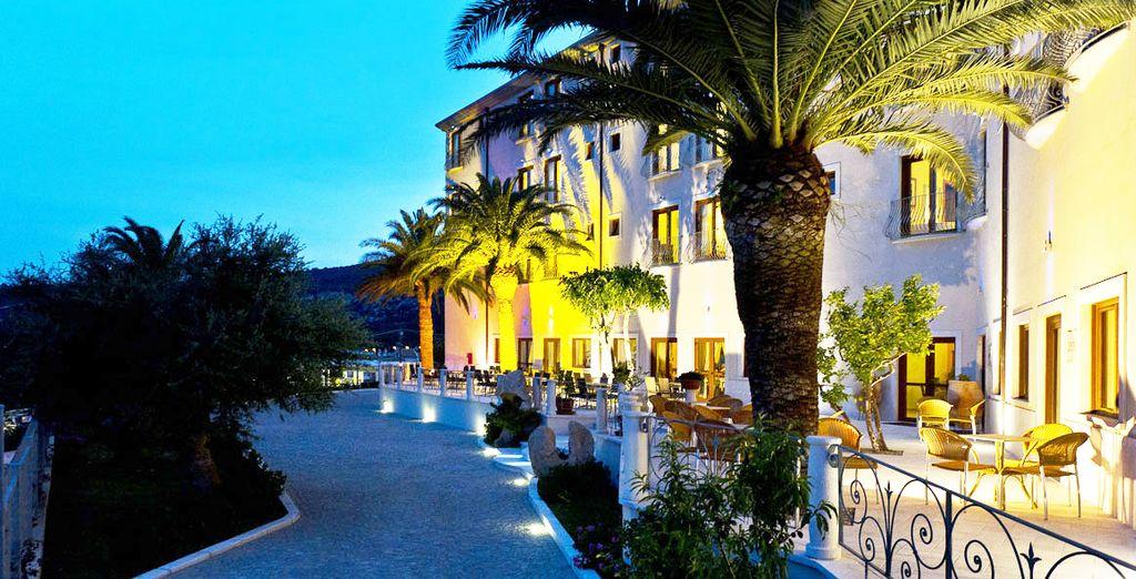 Im Hotel Brancamaria 4*!