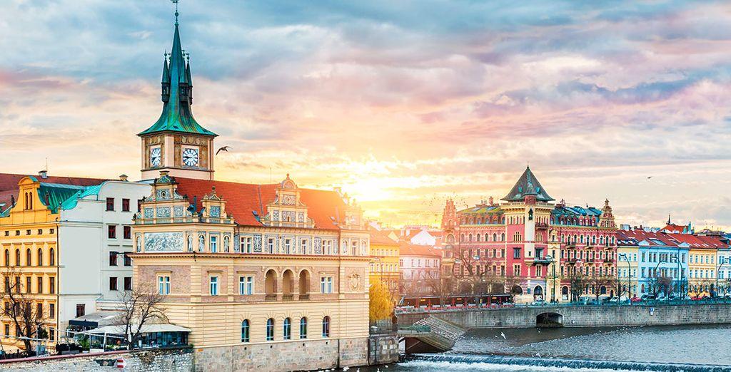Wir heißen Sie herzlich willkommen in Prag!