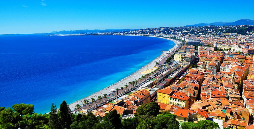 Die Riviera wartet auf Sie