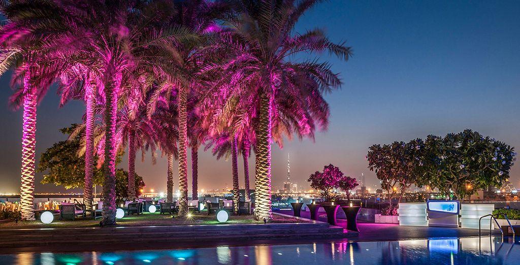 Im Crowne Plaza Dubai