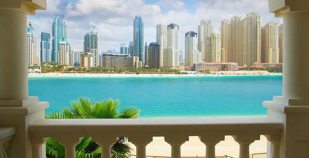 Sie können sich auch für einen Stopover in Dubai entscheiden