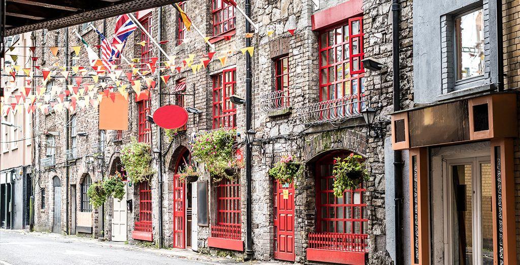Dublin Stadt mit seinem einzigartigen Charme