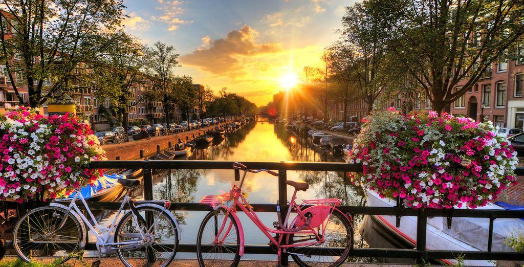 Genießen Sie Ihren Aufenthalt in der niederländischen Hauptstadt!