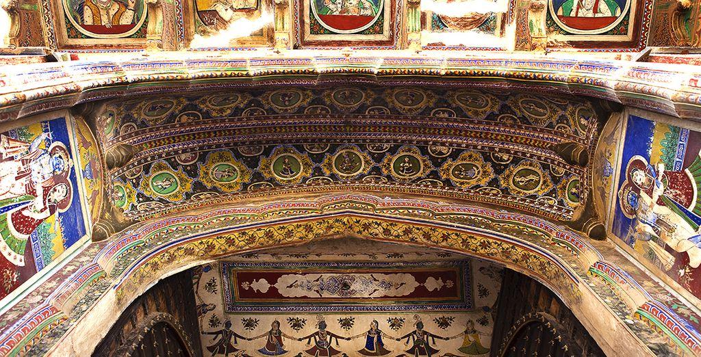 Und die atemberaubende Architektur mit viel Liebe zum Detail