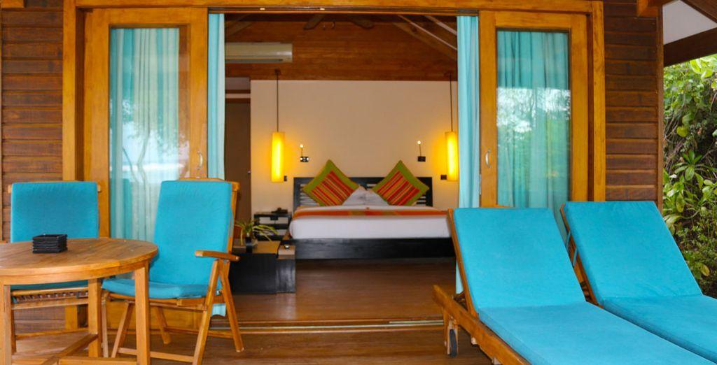 Oder eine Sunrise Villa!