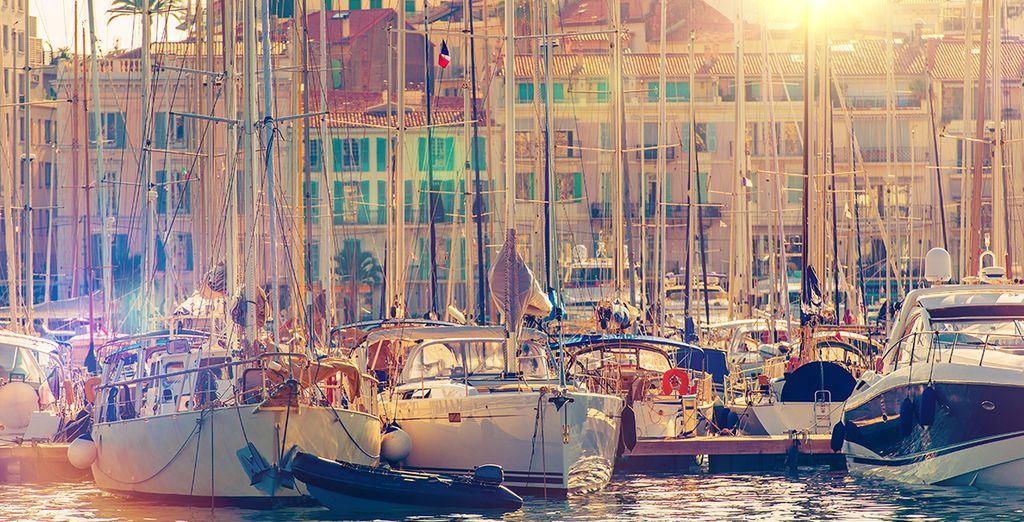 Erkunden Sie die Sehenswürdigkeiten der französischen Riviera