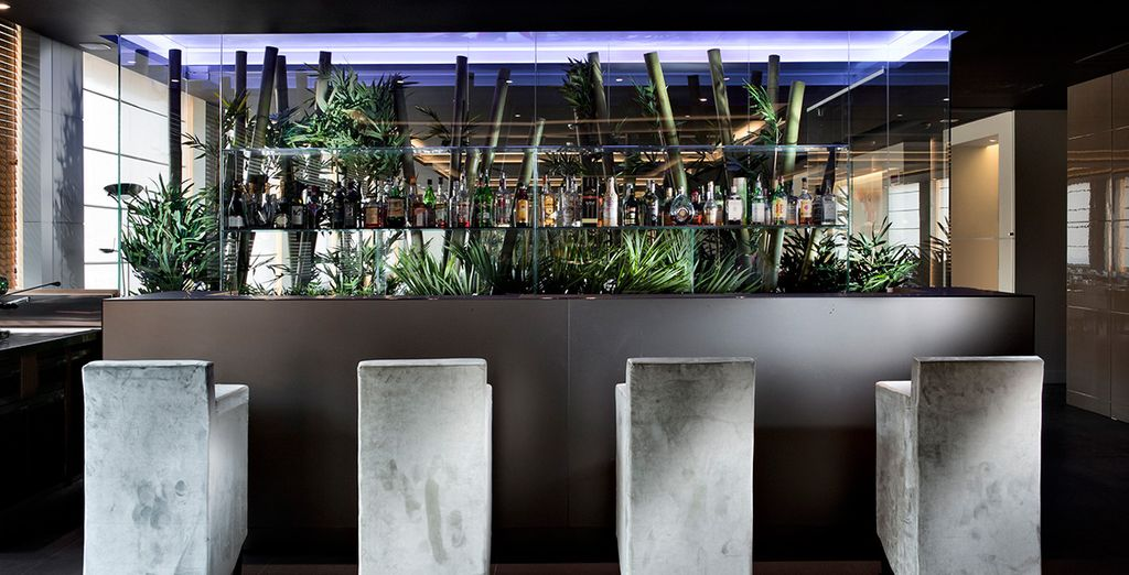Können Sie den Abend an der Lounge Bar in Ruhe ausklingen lassen