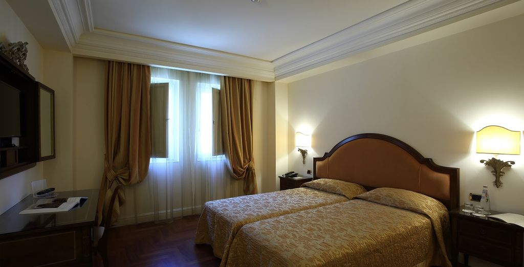 Das elegante Executive Zimmer bietet jeglichen Komfort