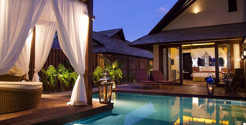... oder einer Beach Pool Villa...