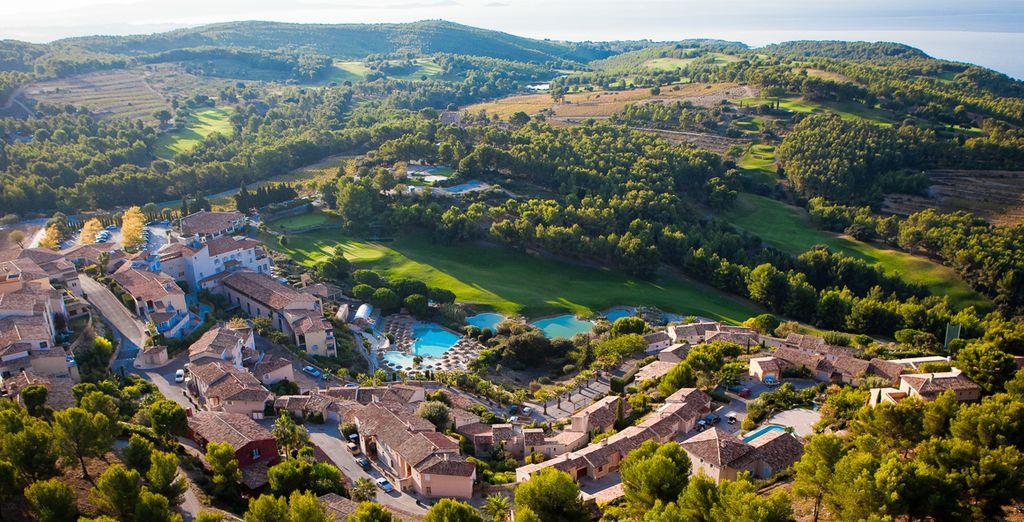 Genießen Sie die Sonnne Südfrankreichs