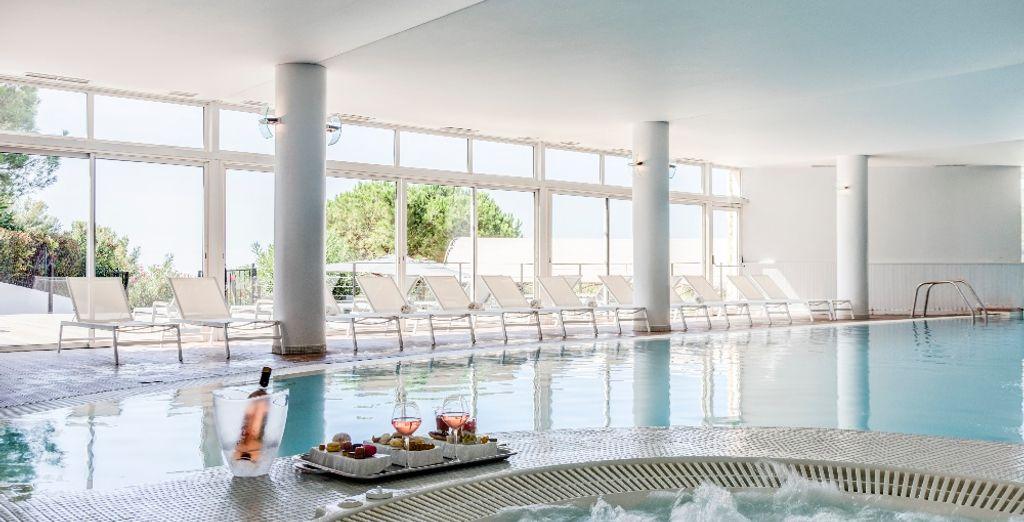 Das Hotel bietet einen hervorragend ausgestatteten Wellnessbereich