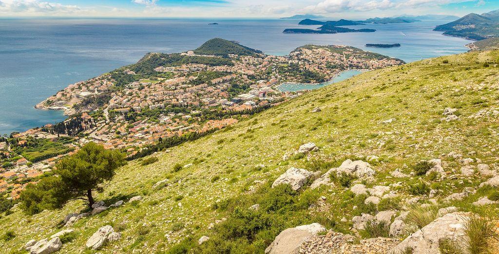 Ein Spaziergang zum Gipfel des Srd Mountain in Dubrovnik
