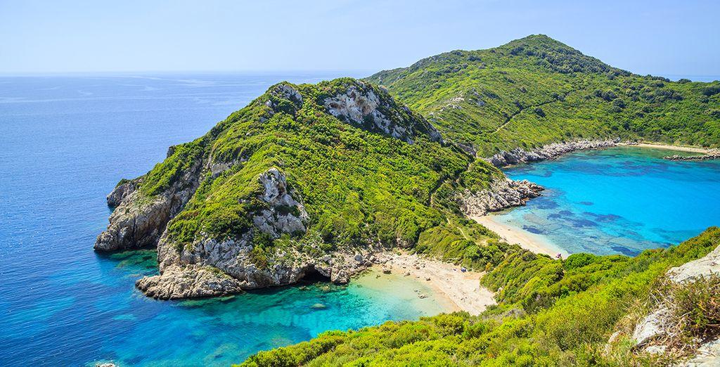 Gehen Sie während Ihres Urlaubs nach Korfu in der Sonne