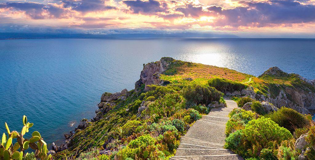 Entdecken Sie schöne Landschaften wie Palermo in Sizilien, Italien