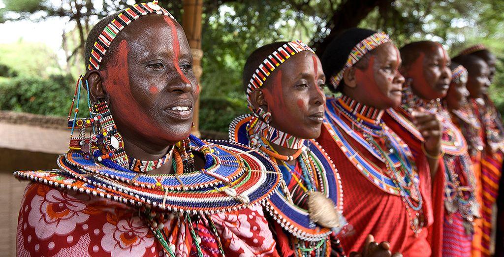 Treffen Sie die Maasai, das Kriegervolk Kenias während Ihres Urlaubs