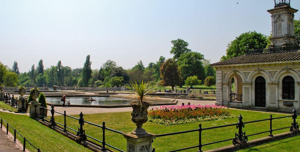 Improvisieren Sie ein Picknick in den schönsten Parks Londons.