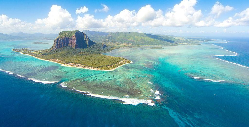 Die herrlichen Landschaften von Mauritius