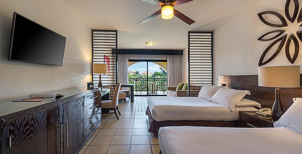 buchen Sie die Hotel Ocean Coral und Turquesa 5* by H10 für Ihren Urlaub in Mexiko