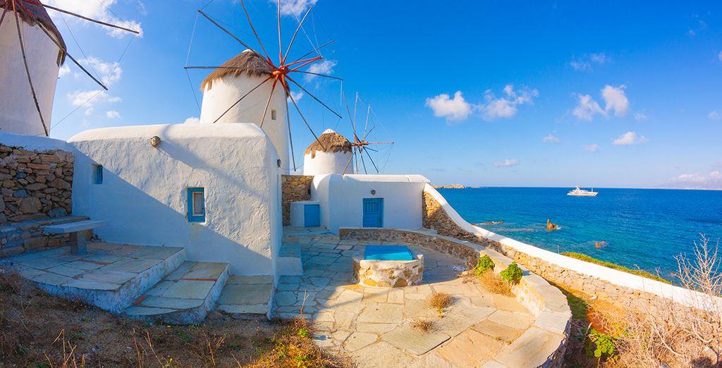 Griechenland Rundreise mit Athen und Kykladen