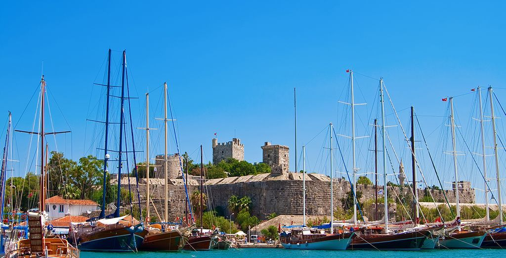 Besuchen Sie die Festung Kos