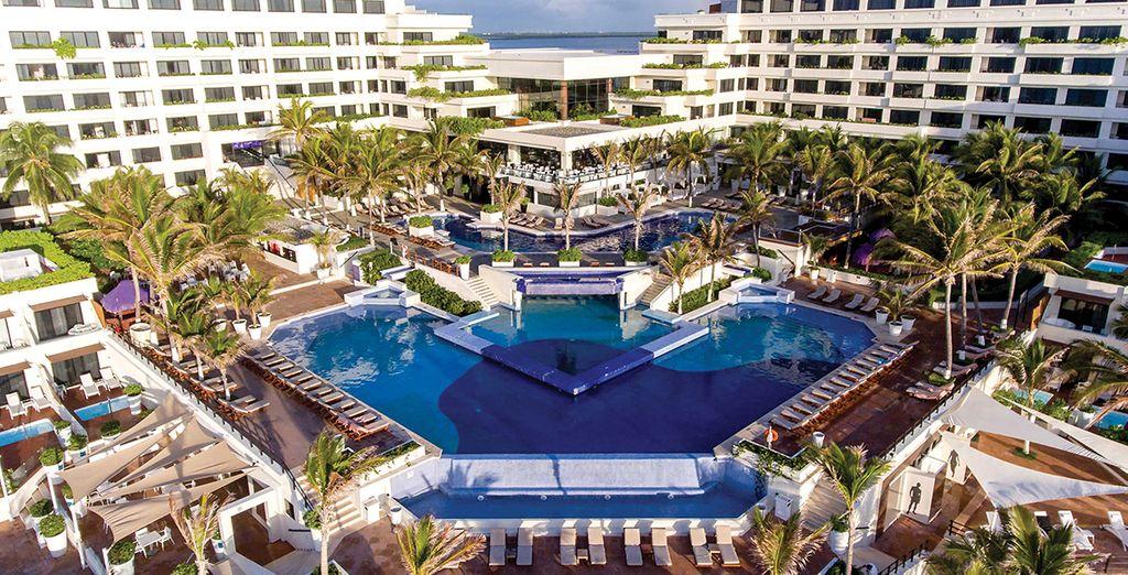 Hotel Now Emerald Cancun 5* mit Voyage Privé