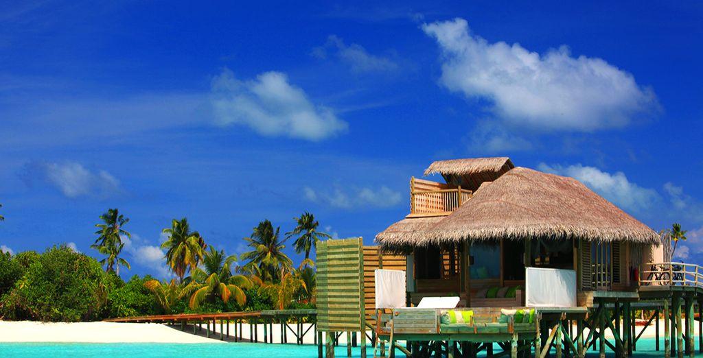 Sie haben die Wahl in einer wunderschönen Ocean Water Villa zu wohnen