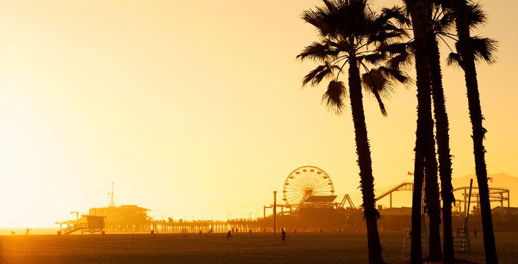 Die paradiesischen Strände von Los Angeles