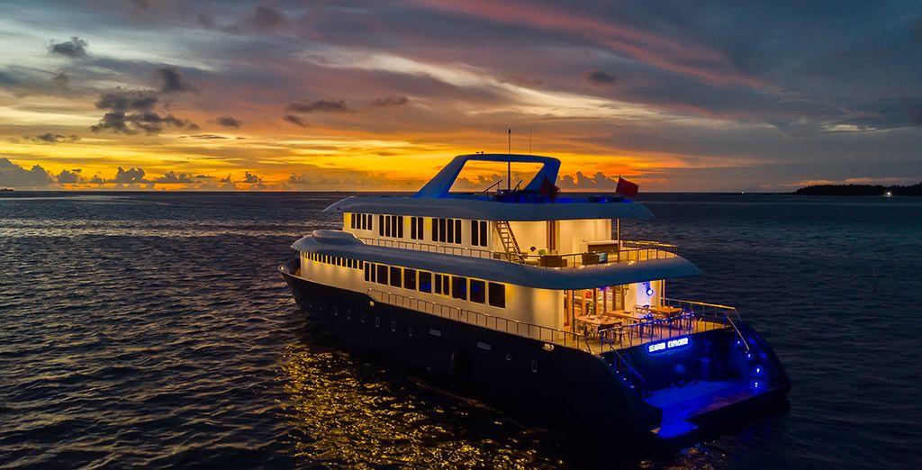 Seafari Explorer Cruise und Filitheyo Island Resort 4* mit Voyage Privé
