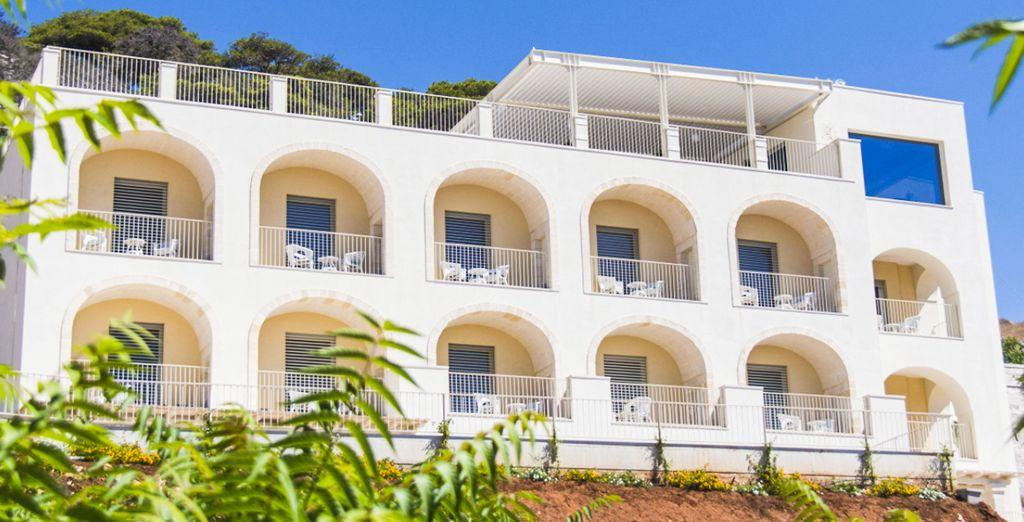 Das Est Hotel Santa Cesarea Terme 4* erwartet Sie!
