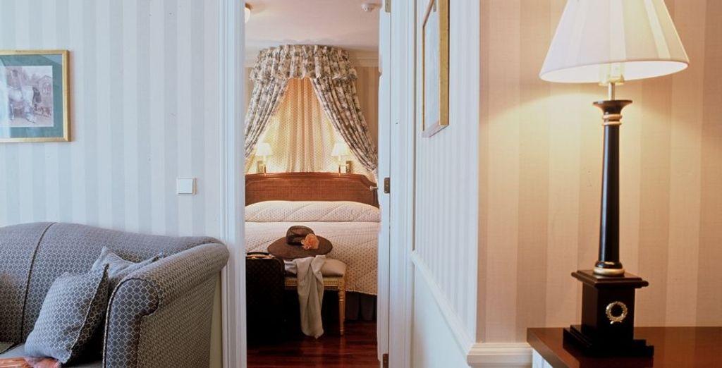 Gönnen Sie sich ein optionales Upgrade auf eine Suite!