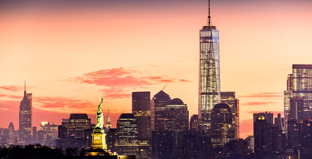 Ihr nächster Stopp ist New York City