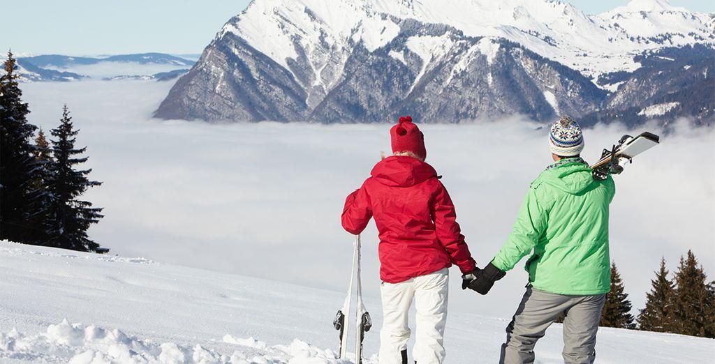 Die Berge bieten Ihnen zahlreiche mögliche Aktivitäten