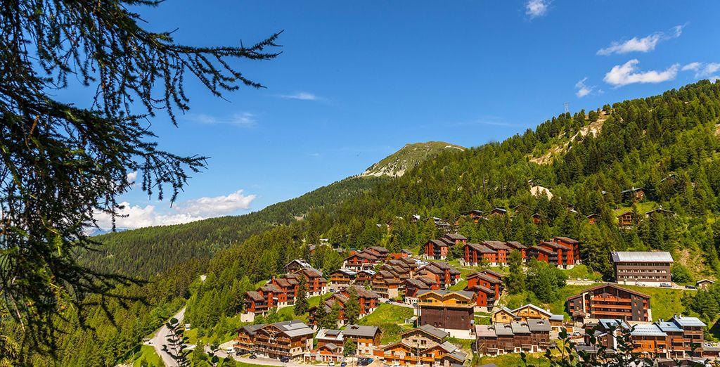 Wollen Sie saubere Luft und eine schöne Berglandschaft?