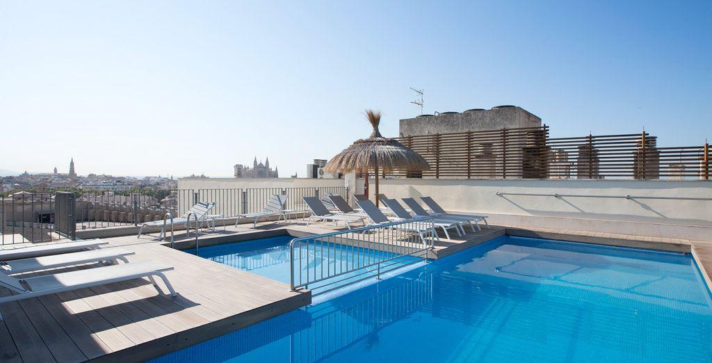 Übernachtung in einem Boutique Hotel Saratoga während Ihres Aufenthaltes auf Mallorca
