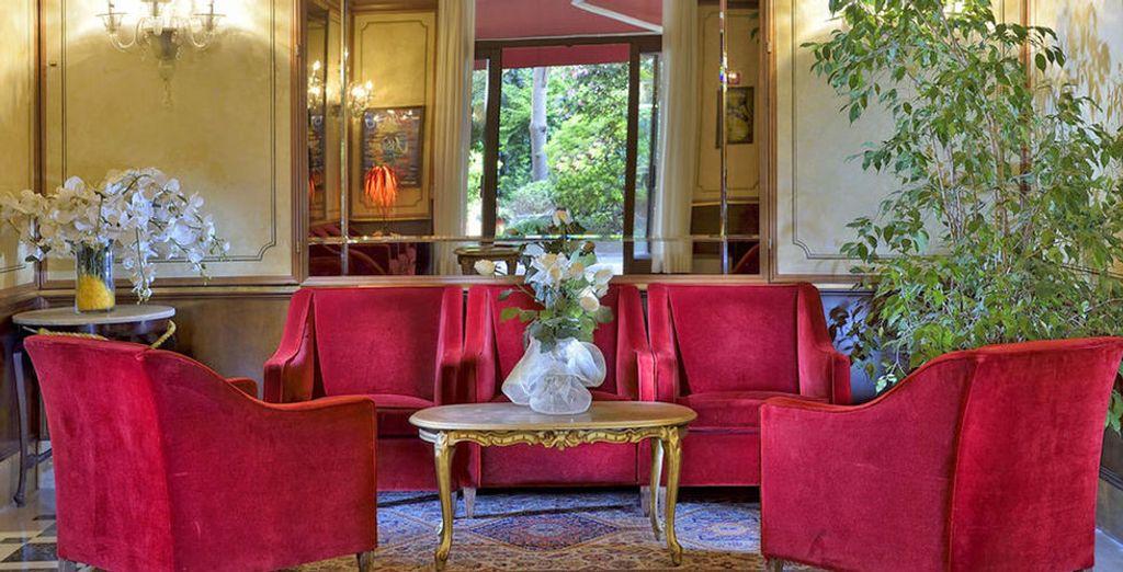 Willkommen im stilvollen Hotel Amadeus 4*