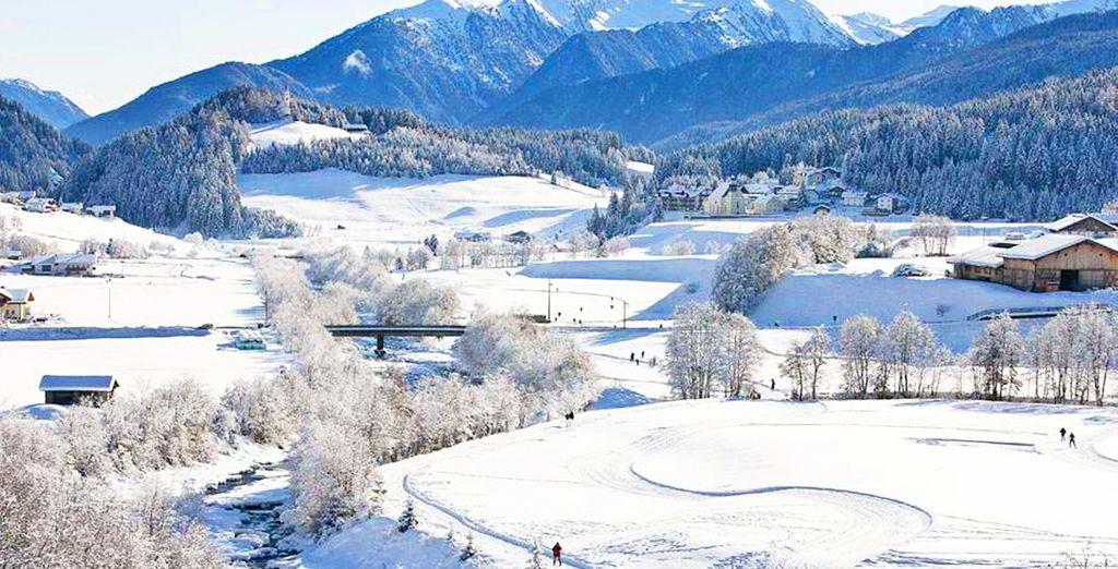 Ihr Hotel befindet sich unweit vom Skigebiet entfernt