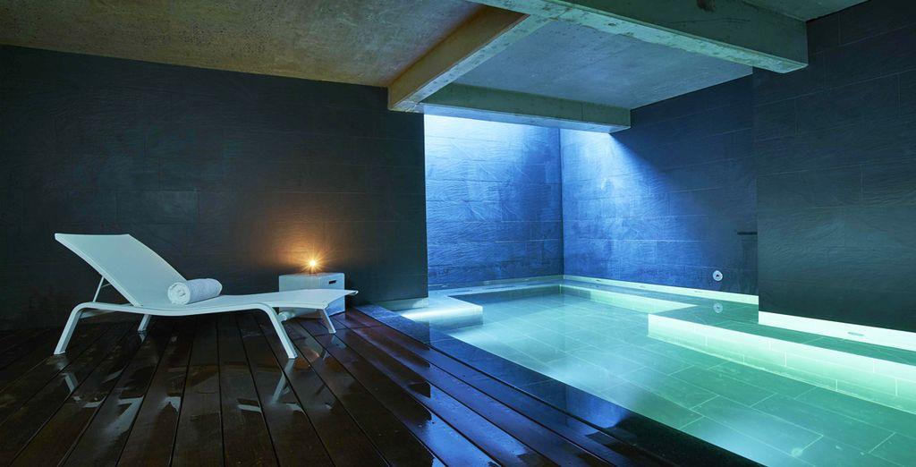 Y un spa de diseño...