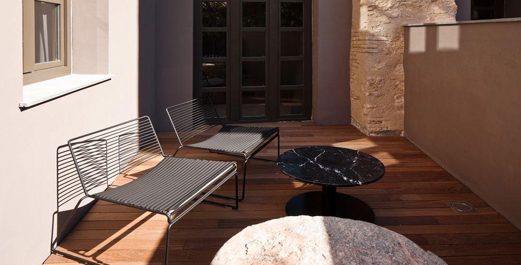 Esta habitación también está disponible con terraza