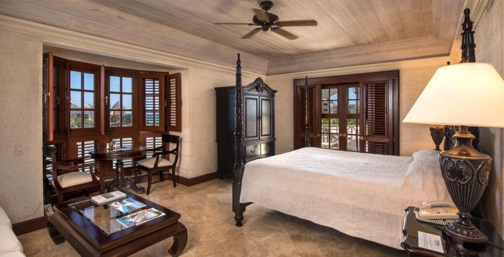 Suite 2 habitaciones con vista al mar y piscina de inmersión
