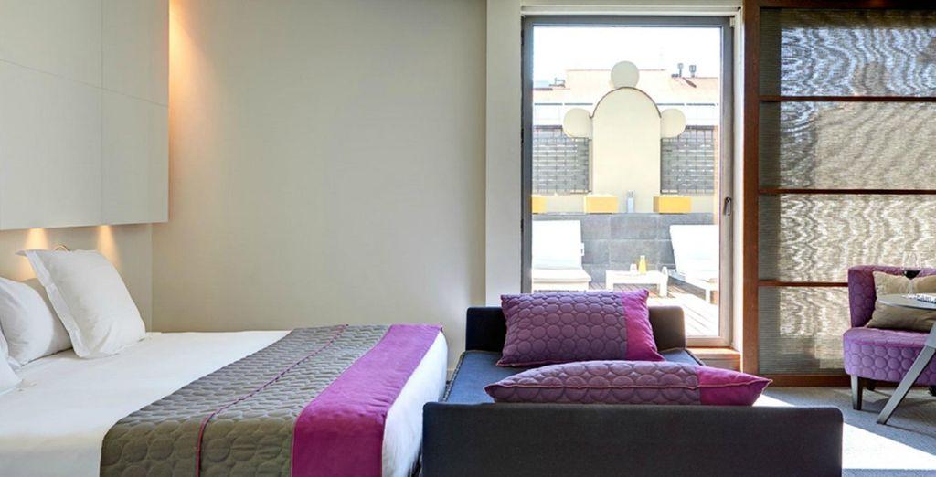 Este hotel es la combinación perfecta de estilo y comodidad (imagen: Suite junior)