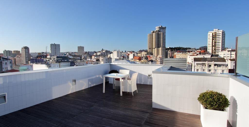 Este elegante hotel de 4* se encuentra a dos pasos del centro histórico