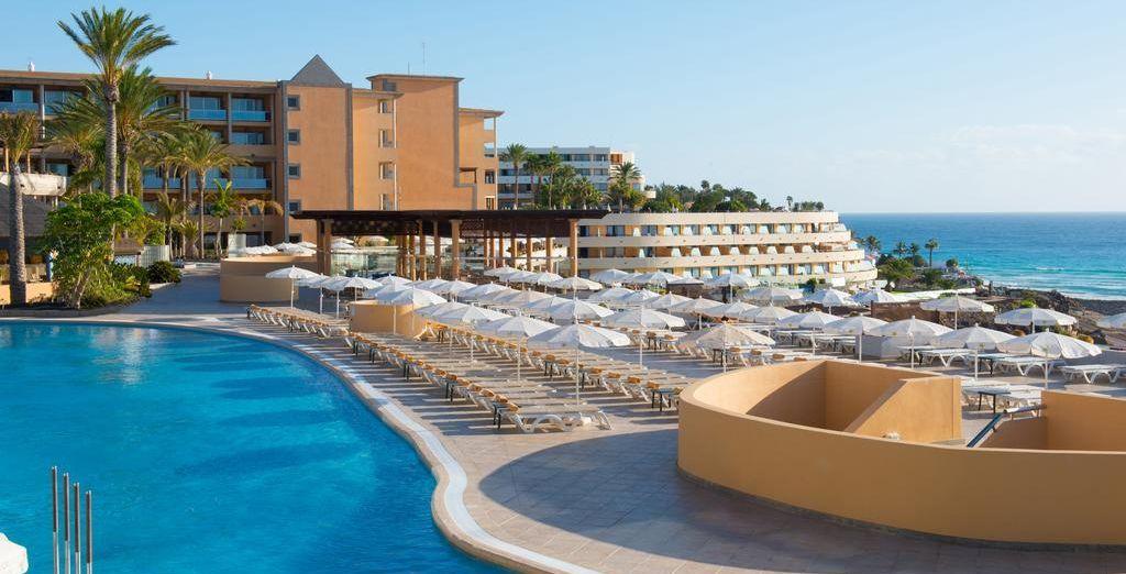 Bienvenido al Iberostar Fuerteventura Palace, un hotel de 5*