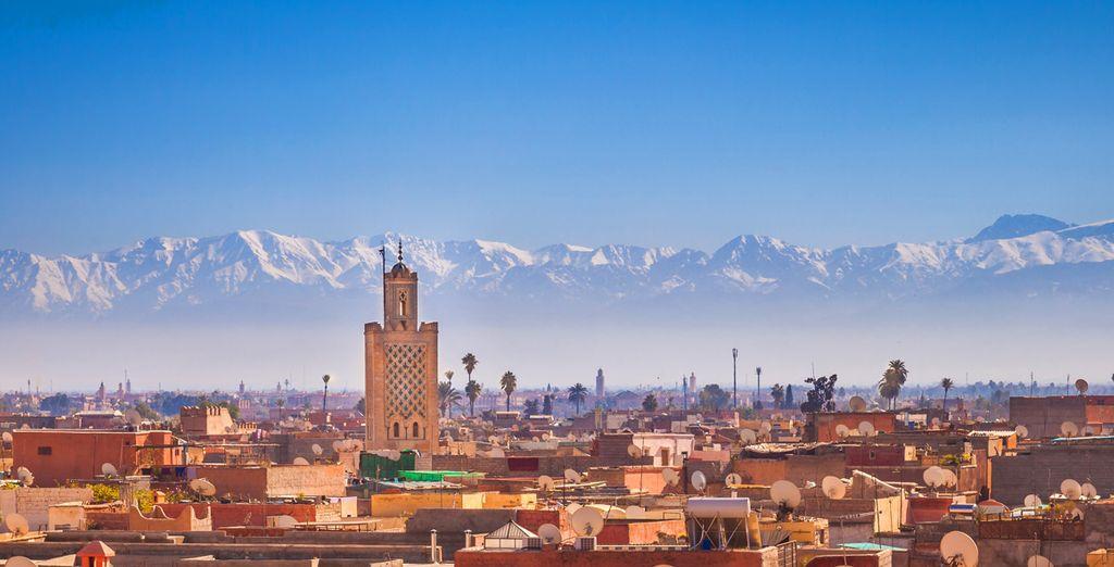 Déjate cautivar por el ambiente de Marrakech